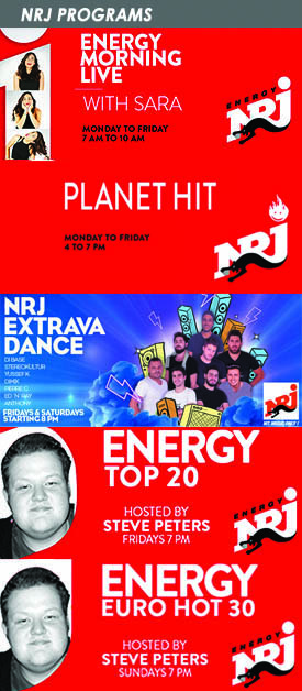 NRJ Lebanon - HIT MUSIC ONLY!